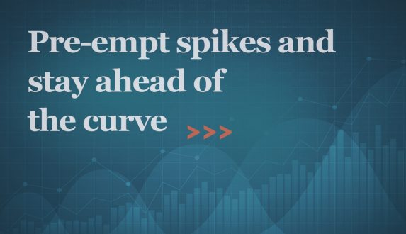 Pre-empt spikes and stay ahead of the curve